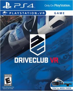Driveclub Playstation VR PS4