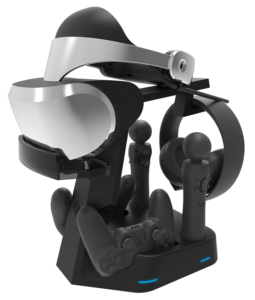 PSVR Showcase Rapid AC PS4 VR Charge & Display Stand - PlayStation 4